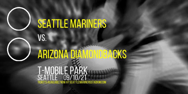 Seattle Mariners Vs. Arizona Diamondbacks at T-Mobile Park