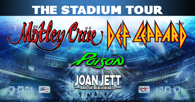 The Stadium Tour: Motley Crue, Def Leppard, Poison & Joan Jett and The Blackhearts at T-Mobile Park